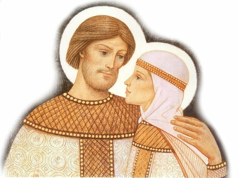 картинки петр и феврония муромские история вечной любви